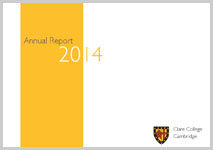 Publication cover for Annual Report 2014