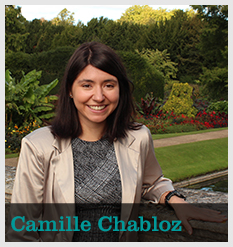Camille Chabloz, Development Associate, Giving Programmes