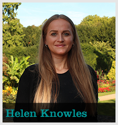 new image Helen Knowles, Development Assistant