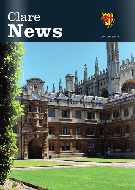 Cover image of annual Clare News publication showing Old Court